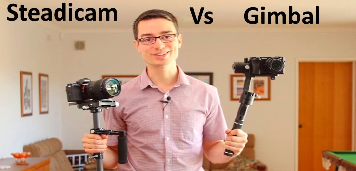 Camera Gimbal Vs Steadicam Stabilizer