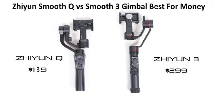 Zhiyun Smooth Q vs Smooth 3 Gimbal