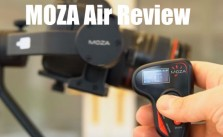 Moza Air Gimbal Review Large Camera