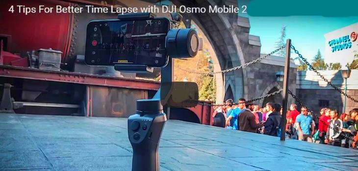 DJI Osmo Mobile 2 tips and tricks
