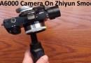 Sony A6000 Camera On Zhiyun Smooth Q Gimbal