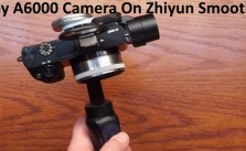 Sony A6000 Camera On Zhiyun Smooth Q Gimbal