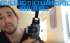 Zhiyun Smooth 4 Smartphone Gimbal Test Review