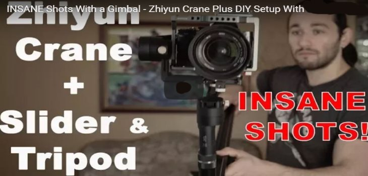 Zhiyun Crane Plus Gimbal slider