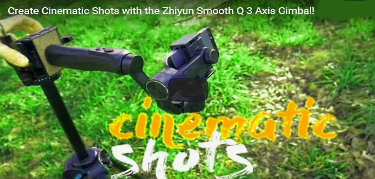 DIY Cinematic Slider And Jib Shots With Zhiyun Smooth Q Gimbal