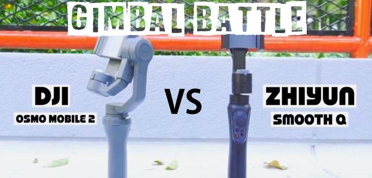 DJI Osmo Mobile 2 vs Zhiyun Smooth Q Compared And Tested