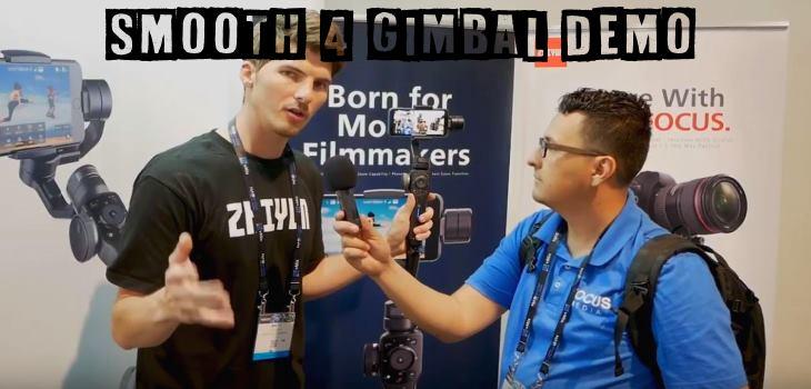 Smooth 4 gimbal demo