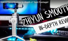 Smooth 4 gimbal test and review white