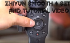 Zhiyun Smooth 4 Setup And Tutorial Video With Review