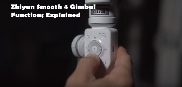 Zhiyun Smooth 4 review and functions explained