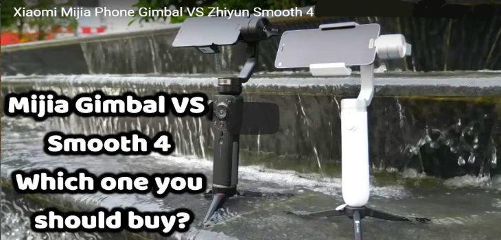Xiaomi Mijia Vs Zhiyun Smooth 4 Best Phone Gimbal Review Test