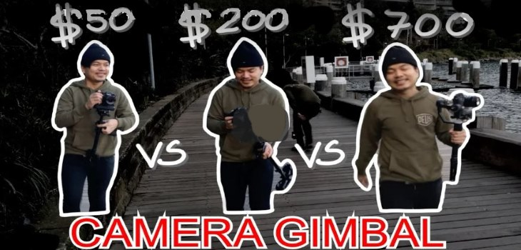 Camara Gimbal shootout Low price vs High