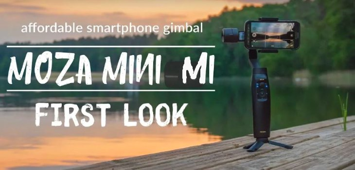 Moza Mini-Mi Smartphone Gimbal Test Review