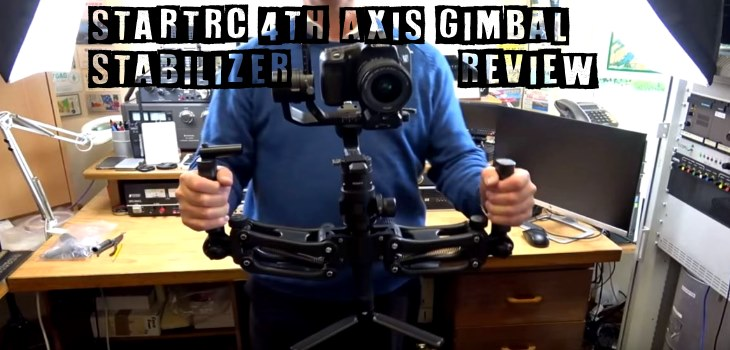 STARTRC 4th Axis Gimbal Stabilizer Handle Review Video