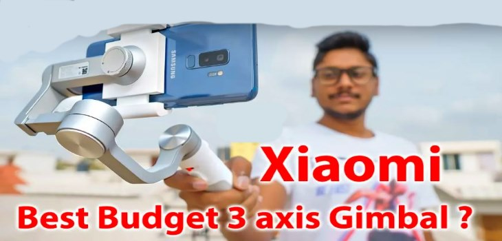 Xiaomi Mijia 3 Axis Smartphone Gimbal Test Review And Unboxing