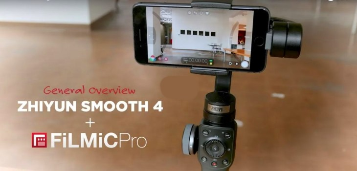 Using The Smooth 4 Gimbal With FiLMiC PRO On iPhone