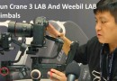 Zhiyun Crane 3 Lab and Weebil Lab gimbals
