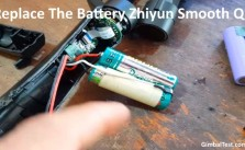 How To Replace The Battery Zhiyun Smooth Q batteries