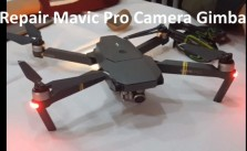 DJI Mavic Pro gimbal overload error fix problem