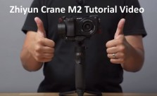 Zhiyun Crane M2 Tutorial Video Manual