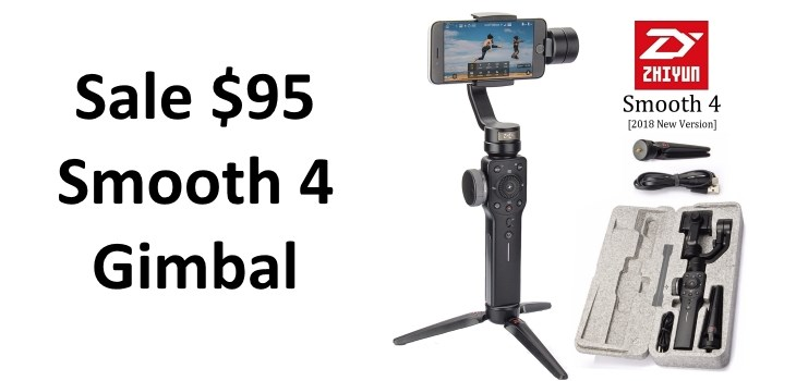 Zhiyun Smooth 4 Sale Deal