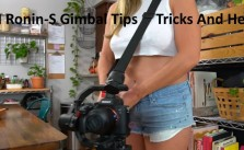 DJI Ronin S Gimbal Tips Tricks And Help