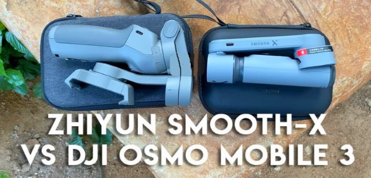 Zhiyun Smooth-X vs DJI Osmo Mobile 3 Gimbal Test