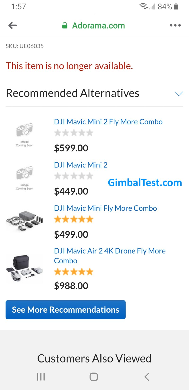 Mavic Mini 2 Price