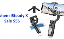 Hohem iSteady X 3-Axis Smartphone Gimbal Sale $55 Free Shipping